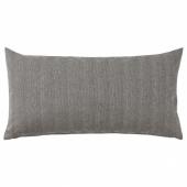 САГАЛОВИЗА Подушка, черный/естественный, 30x58 см