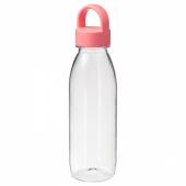 ИКЕА/365+ Бутылка для воды, светло-красный, 0.5 л