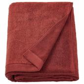 ХИМЛЕОН Простыня банная, коричнево-красный, меланж, 100x150 см