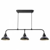 АГУННАРИД Подвесной светильник с 3 лампами, черный