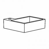 ЛИЛЛОНГЕН Одинарная раковина, белый, 41x41x13 см