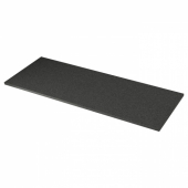 ЭКБАККЕН Столешница, черный под камень, ламинат, 186x2.8 см