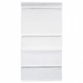 РИНГБЛУММА Римская штора, белый, 120x160 см