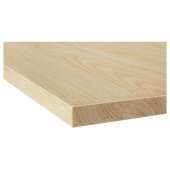 ЭКБАККЕН Столешница, под ясень, ламинат, 186x2.8 см
