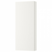 ГОДМОРГОН Навесной шкаф с 1 дверцей, белый, 40x14x96 см