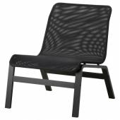 НОЛЬМИРА Кресло, черный, черный