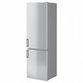 НЕДИСАД Холодильник/ морозильник, нержав сталь, 249/75 л