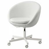 СКРУВСТА Рабочий стул, Исан белый