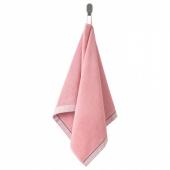 ВИКФЬЕРД Полотенце, розовый, 50x100 см
