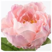 СМИККА Цветок искусственный, Пион, розовый, 30 см