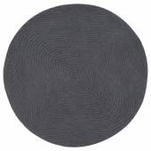 ВОСТРУП Ковер, короткий ворс, светло-серый, 90 см