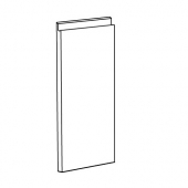 ВОКСТОРП Дверь, глянцевый светло-бежевый, 30x60 см