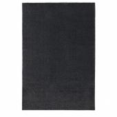 ТЮВЕЛЬСЕ Ковер, короткий ворс, темно-серый, 200x300 см