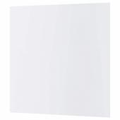 КЛИНГСТА Настенная панель под заказ, белый акрил, 1 м²x1.2 см