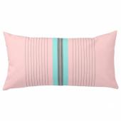 ФУНКЁН Подушка для дома/сада, розовый, голубой, 30x58 см