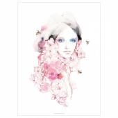 ПЬЕТТЕРИД Картина, Девушка в цвету, 70x100 см