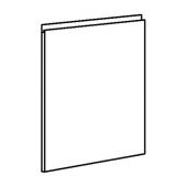 ВОКСТОРП Дверь, темно-серый, 60x60 см