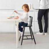 АГАМ Детский стул, черный