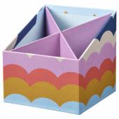 ЛАНКМОЙ Органайзер, разноцветный, 12x12 см