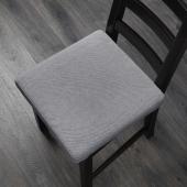 ОМТЭНКСАМ Подушка на стул, Оррста светло-серый, 40x40 см