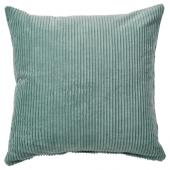 ОСВЕЙГ Чехол на подушку, серо-бирюзовый, 50x50 см