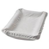 СКЁТСАМ Чехол на пеленальную подстилку, серый, 83x55 см