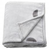 ВЭНКРЕТС Детское одеяло, светло-серый, 130x170 см