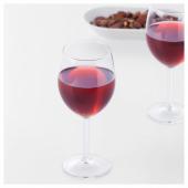 СВАЛЬК Бокал для красного вина, прозрачное стекло, 30 сл