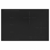 ХОГКЛАССИГ Индукционная панель/регулир зоны, черный, 78 см
