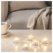 СИНЛИГ Свеча греющая ароматическая, Сладкая ваниль, естественный