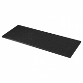 СЭЛЬЯН Столешница, черный под минерал, ламинат, 186x3.8 см