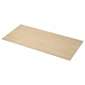 ПИННАРП Столешница, ясень, шпон, 246x3.8 см