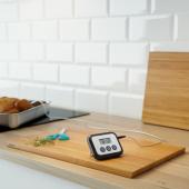 ФАНТАСТ Термометр/таймер для мяса, цифровой черный