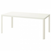 ТИНГБИ Стол, белый, 180x90 см