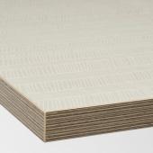 ЭКБАККЕН Столешница, матовая поверхность бежевый, с рисунком ламинат, 186x2.8 см