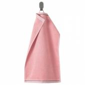 ВИКФЬЕРД Полотенце, розовый, 30x50 см