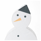 СТРОЛА Светодиодное настольное украшение, снеговик