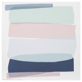 ФРИДЕНЭ Картина, светло-зеленый светло-розовый, светло-сиреневый, 30x30 см