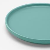 КЕЙСЕРЛИГ Тарелка десертная, бирюзовый, 18 см