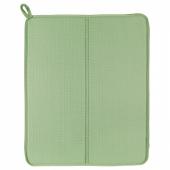 НЮХОЛИД Коврик для сушки посуды, зеленый, 44x36 см