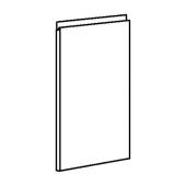 ВОКСТОРП Дверь, темно-серый, 40x60 см