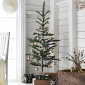 ВИНТЕР 2020 Растение искусственное, д/дома/улицы, рождественская елка зеленый, 150 см