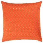 ЛЬЮВАРЕ Чехол на подушку, ришелье оранжевый, 50x50 см