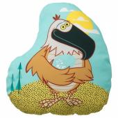 ЛАТТО Подушка, орел, разноцветный, 42x47 см