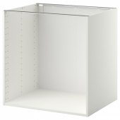МЕТОД Каркас напольного шкафа, белый, 80x60x80 см