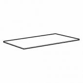 ЭКБАККЕН Столешница, черный под камень, ламинат, 246x2.8 см