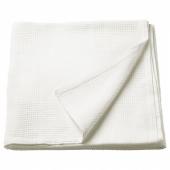 ИНДИРА Покрывало, белый, 150x250 см