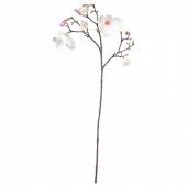СМИККА Цветок искусственный, Магнолия, розовый, 110 см