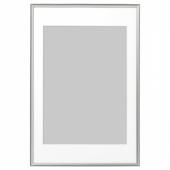 СИЛВЕРХОЙДЕН Рама, серебристый, 61x91 см