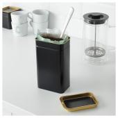 БЛОМНИНГ Банка для кофе/чая, 11x7x20 см